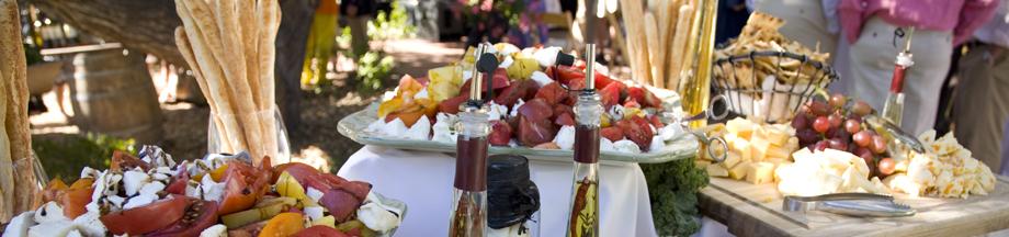 appetizers wedding spread