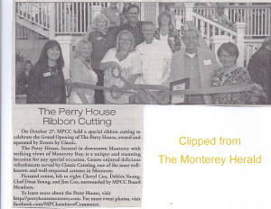 Perry House Ribbon Cutting