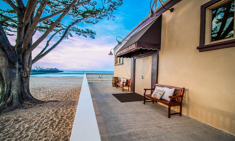 Entrance to Monterey Beach House