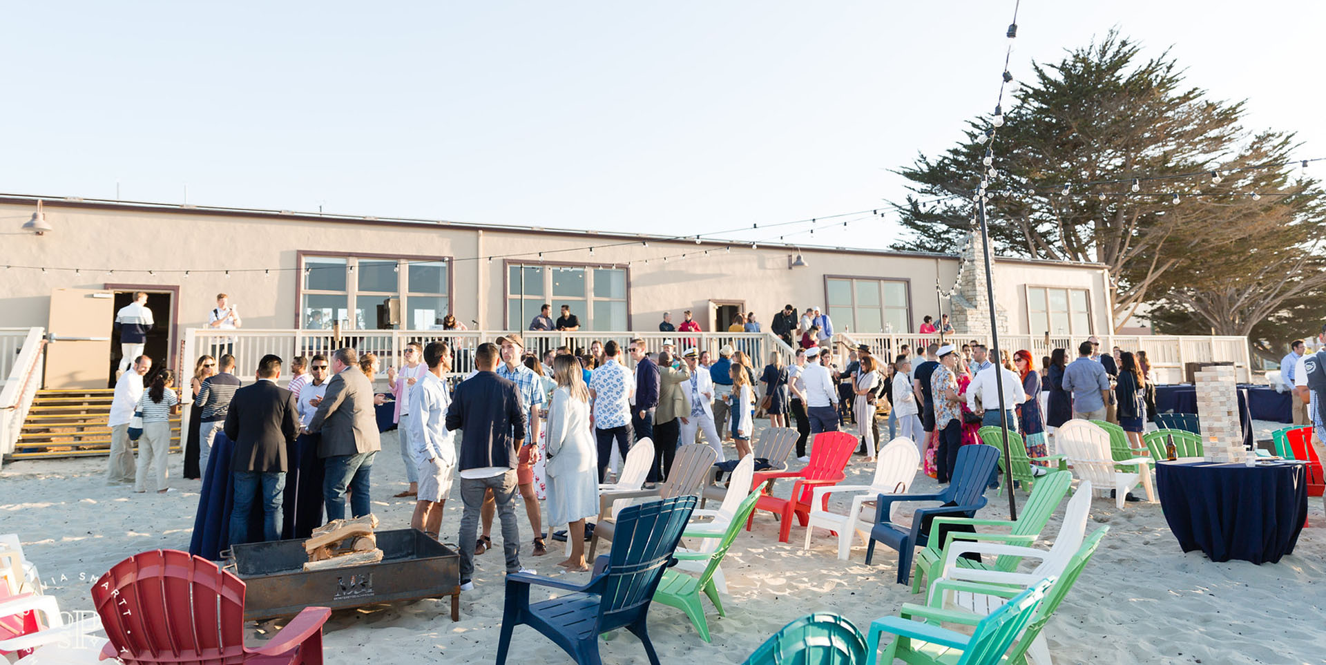Monterey Beach House Corporate Event