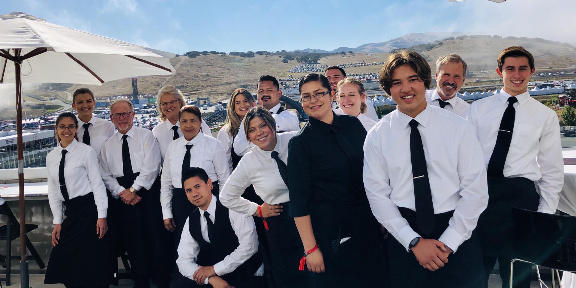 Team at Laguna Seca Rolex Event